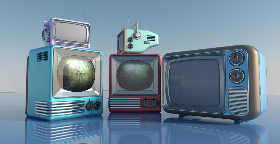 by nradiowave, Концепты телевизоров, #телевизор #концепт #3d #fallout #sketchup #vray
