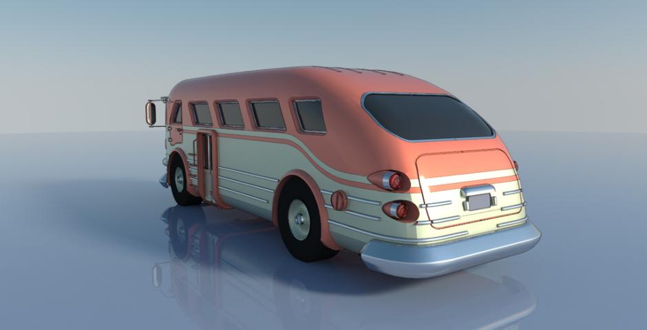 by nradiowave, подборка Городской транспорт, #транспорт #концепт #автобус #концепт_транспорта #sketchup #vray